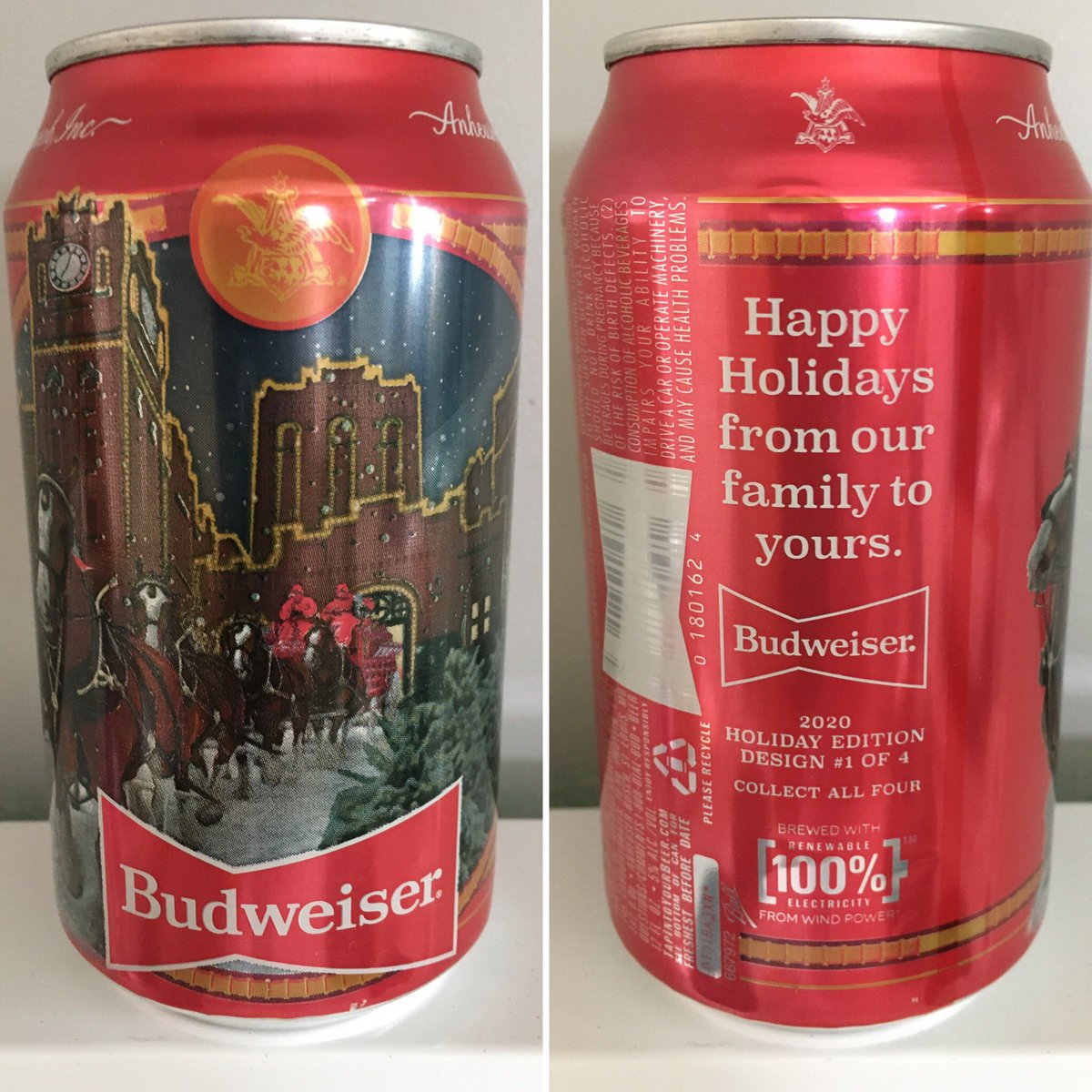 @Budweiser @budweiserusa 2020 Holiday Edition Design 1 of 4 #canmuseum