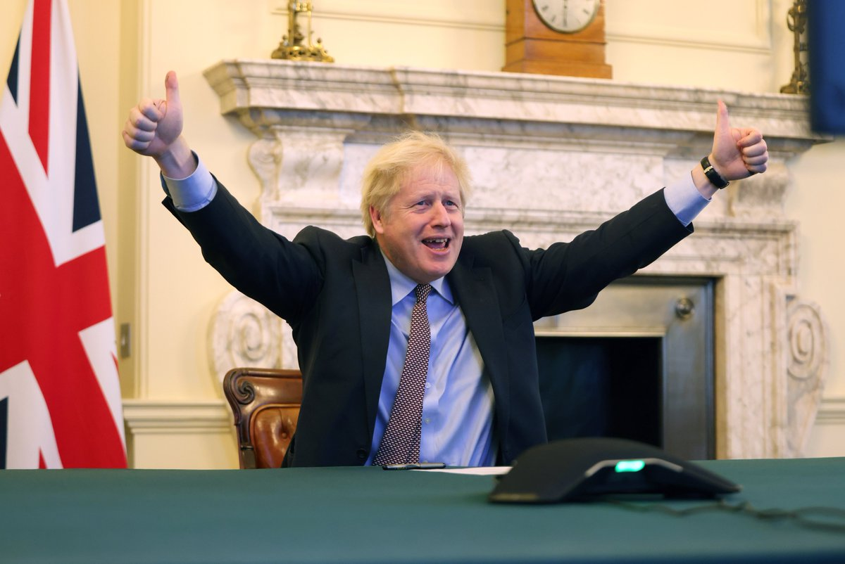 """Boris Johnson on Twitter: """"The deal is done.… """""""
