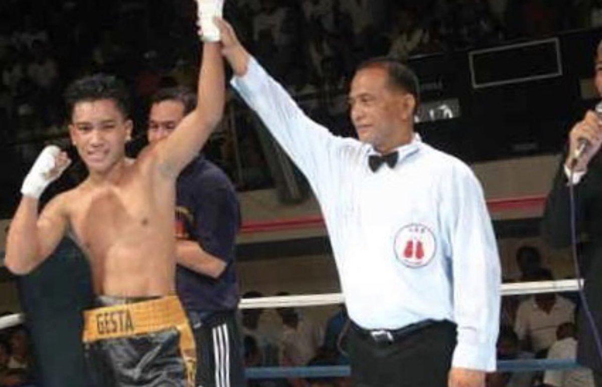 #WayBackWednesday Win #10 against Leo Escobido at Kidapawan City Gym, in the Philippines on 12/16/2005.  7th round TD victory.  #HomeTown #LabanParaSaBayan #Mabuhay   #boxing #philippines #mercitogesta #adidasboxing #adidas #readyforsport   @GoldenBoyBoxing @adidas @cs_adidas