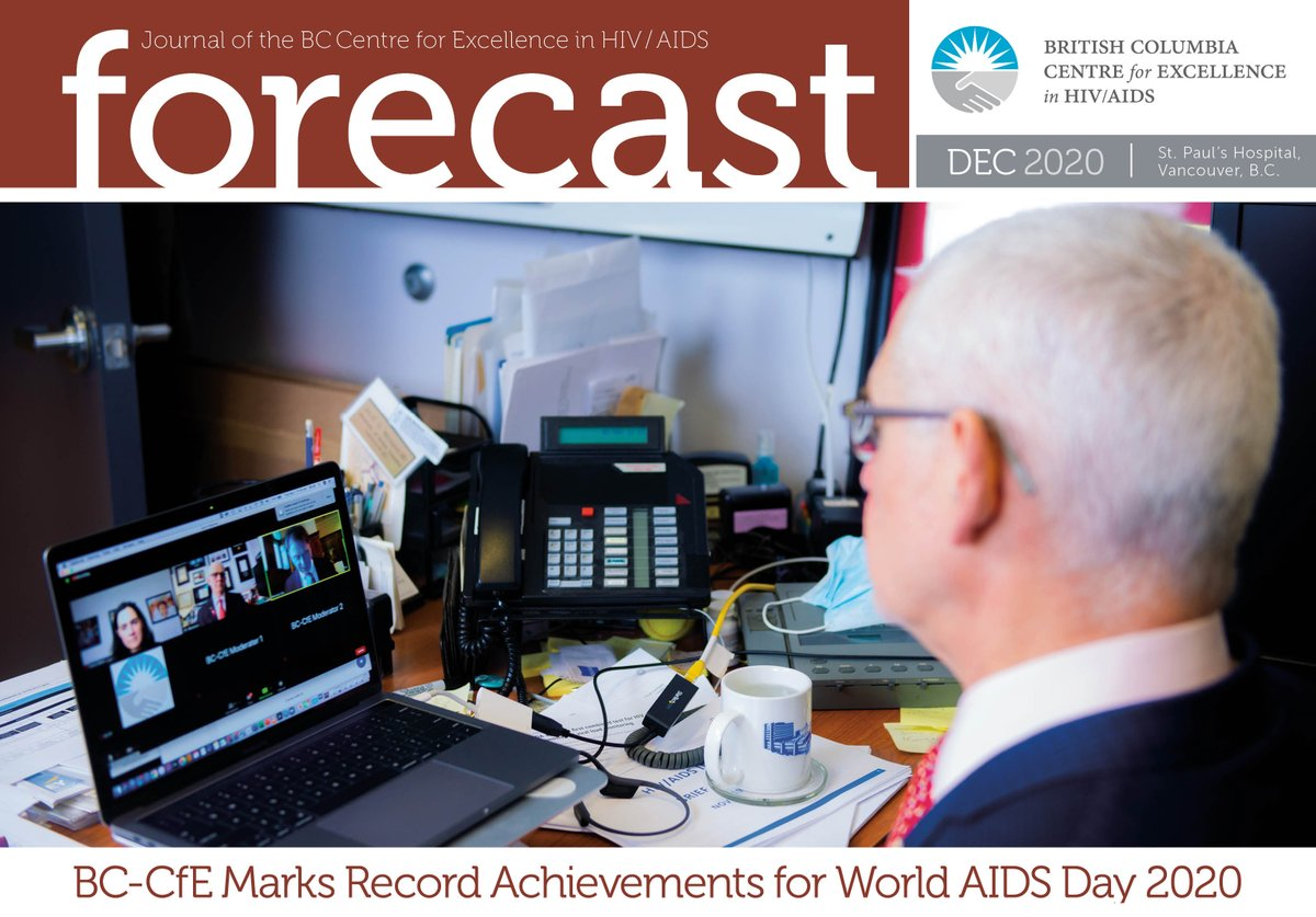 Just in time for the holidays, our December issue of #Forecast newsletter is out. In this issue we highlight #WAD2020, the anniversary of the Dr. Peter Diaries, the #BOOSTqi Annual Congress and new research into the #HIV reservoir.