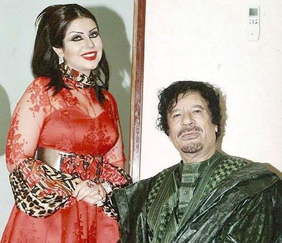 حليمة بولند تكشف حقيقة زواجها من الرئيس الراحل معمر القذافي (صورة)