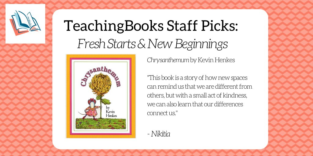 test Twitter Media - To start the new year, we asked the TeachingBooks staff to share a book that celebrates fresh starts and new beginnings. Enjoy this Meet-the-Author Movie https://t.co/g7E9ICyEQt @GreenwillowBook https://t.co/IIwKuFucHc