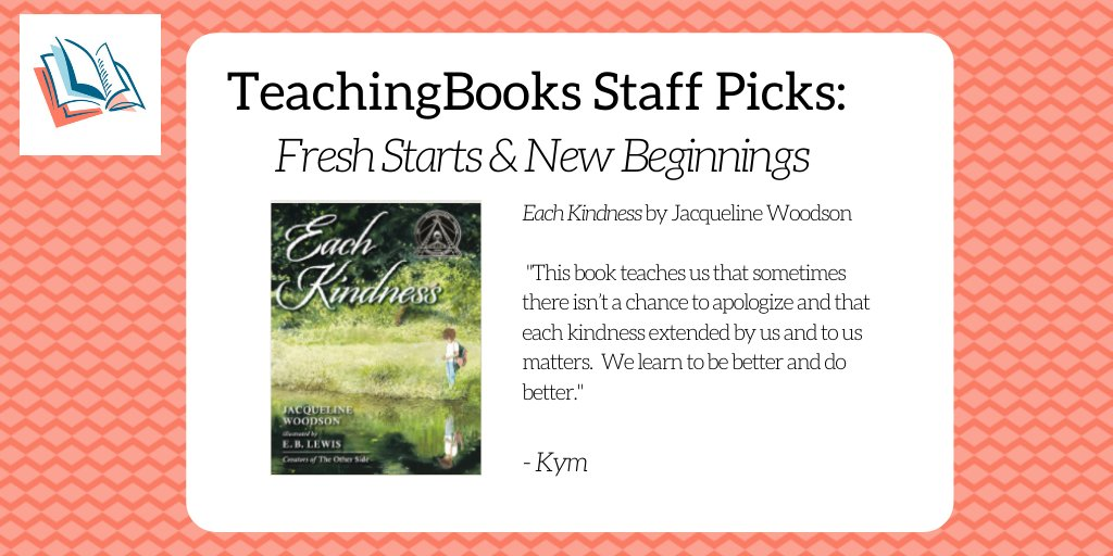 test Twitter Media - To start the new year, we asked the TeachingBooks staff to share a book that celebrates fresh starts and new beginnings. Enjoy this Meet-the-Author recording https://t.co/r3Frhmf0zg @JackieWoodson @penguinkids @kymdavick https://t.co/wArNoz02XE