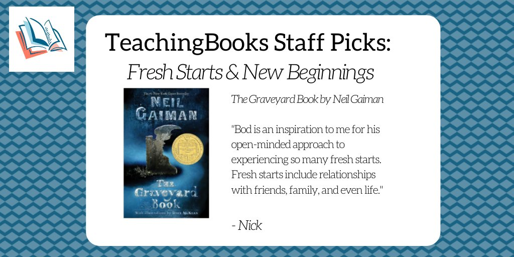 test Twitter Media - To start the new year, we asked the TeachingBooks staff to share a book that celebrates fresh starts and new beginnings. Enjoy  this audio excerpt https://t.co/5nizPiRyop @neilhimself @HarperCollins https://t.co/ncxe86Afc8