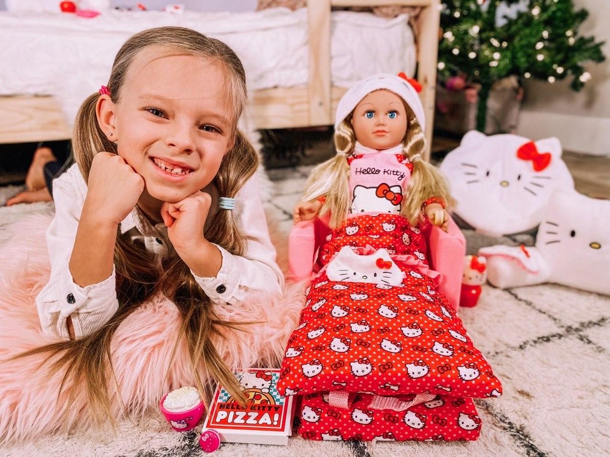 Make all of their supercute wishes come true 🎄✨ How sweet are Olivia and Peyton with their My Life As x Hello Kitty doll and accessories 🎀 Shop last minute gifts at @Walmart stores.   📸: @livandpey on IG