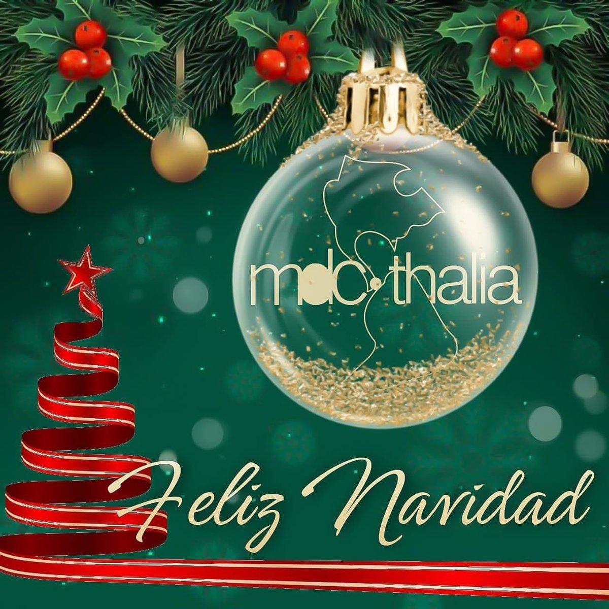 Que en sus hogares siempre reine, La Paz, El Amor y La Salud, son nuestros mejores deseos, hoy y siempre. Feliz Navidad a todos🎄⛄🌟  #FelizNavidadConThalia #Thalia #ThaliaMDCContigoSiempreEsta #MDCCalifornia  #MDCThalia #MDC  💙🌎⭐