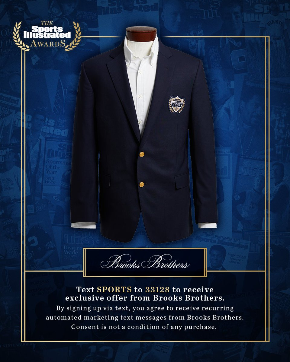 As a thank you to all our amazing fans you can text SPORTS to 33128 to receive an exclusive offer from @BrooksBrothers