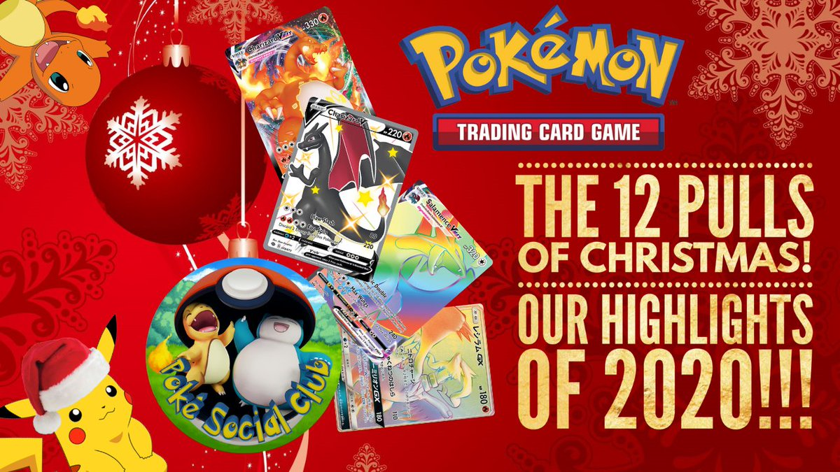 THE 12 BEST PULLS OF 2020! Check out our new video to see what 12 pulls we've rated as the best of 2020. All compiled into a short video just for you! What a Christmas treat!  #Pokemon #PokemonTCG #Christmas #Christmas2020 #PokemonSwordShield #compilation