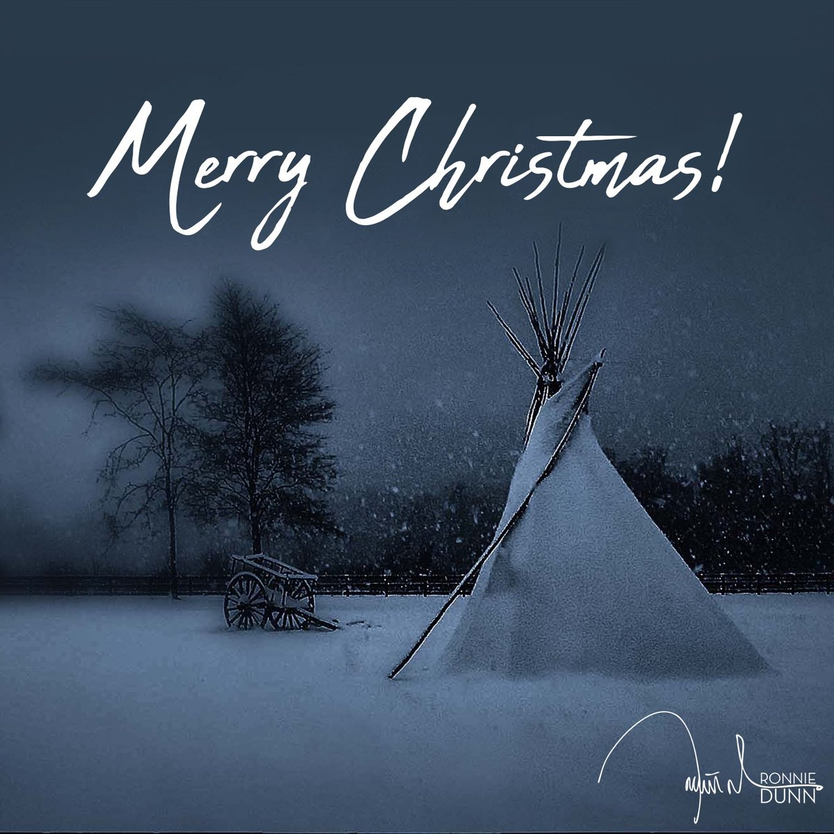 Merry Christmas from our family to yours... here's to the time we can all gather in the same teepee again !!!! RD