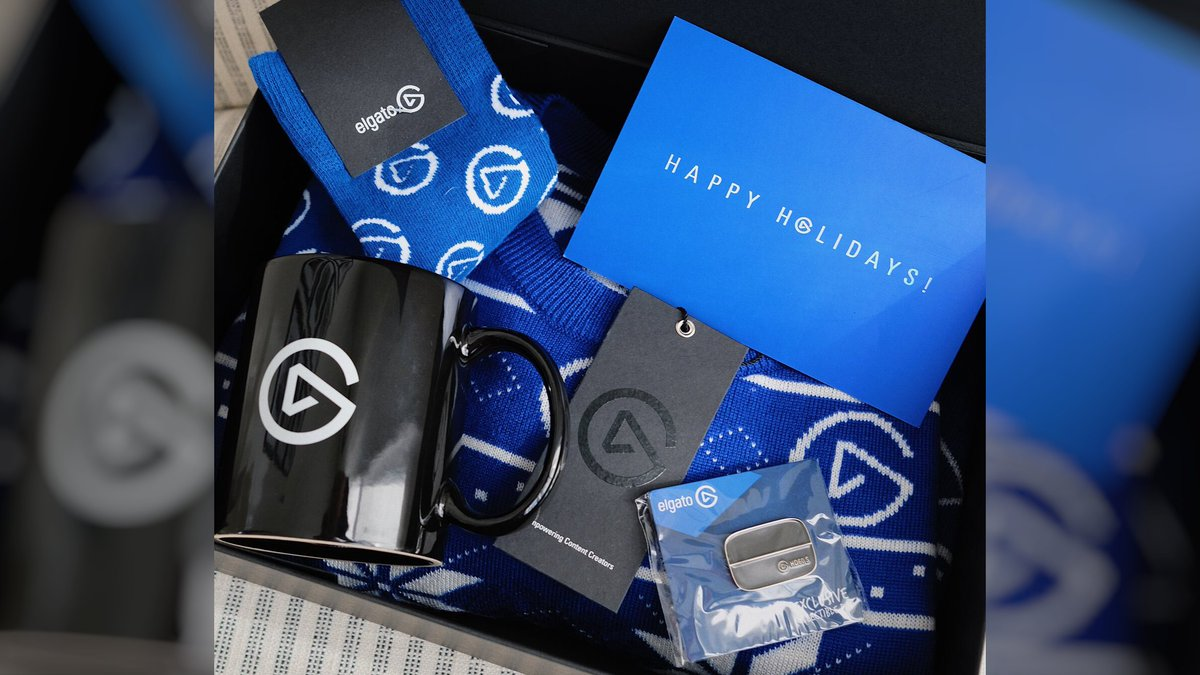 🎄 GIVEAWAY 🎄  Want some exclusive swag? 👀🎁  We're giving away one Elgato Christmas gift box!  To enter: RT + follow @elgato   Winner chosen Dec. 29th.