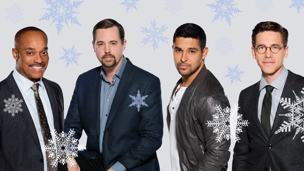 Can you guess which @NCIS_CBS star had a #WhiteChristmas for their first holiday?  Find out if snow days were in the forecast!❄️☃️👉  #HappyHolidays #NCIS #ChristmasEve #CBS #CBSAllAccess #CBSStudios #CBSWatch
