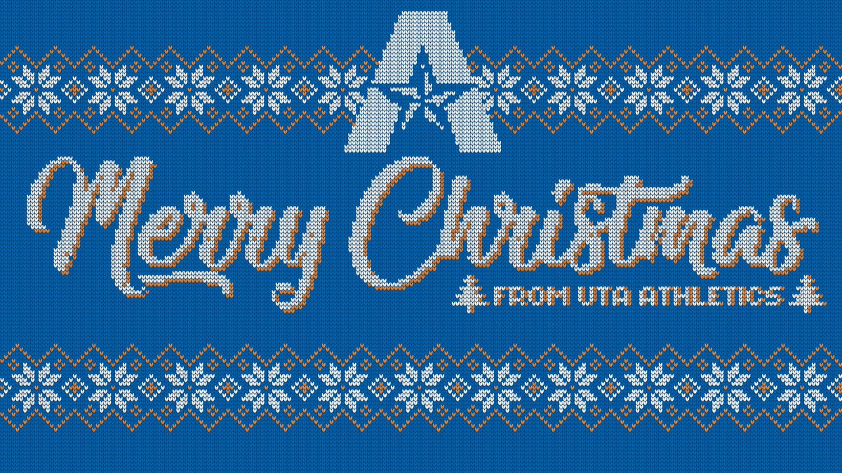 From the UTA Athletics family to yours - Merry Christmas and Happy Holidays!   #MavUp https://t.co/y1Y1JwzYbl