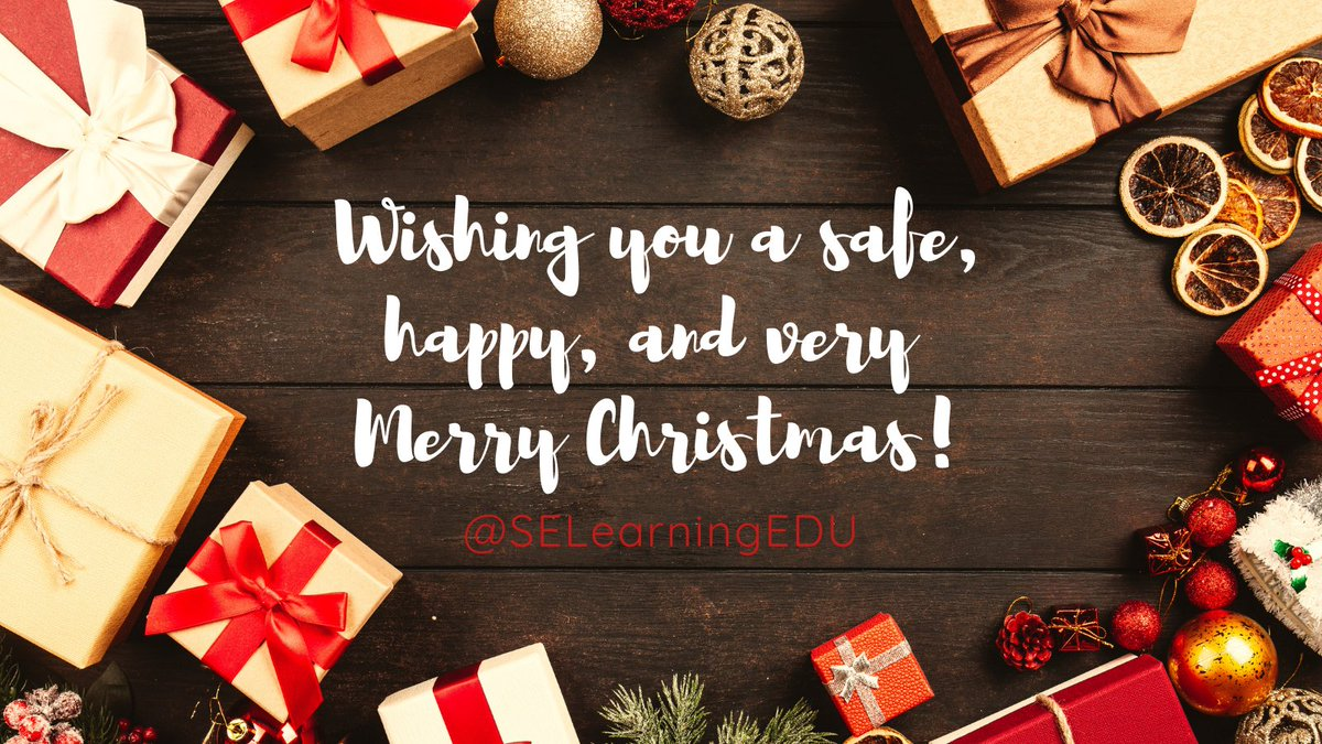 Sending #ChristmasLove from our family to yours! #SEL