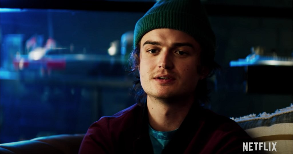 Netflix's 'Death to 2020' clip sees Joe Keery as a highly annoying 'content provider'