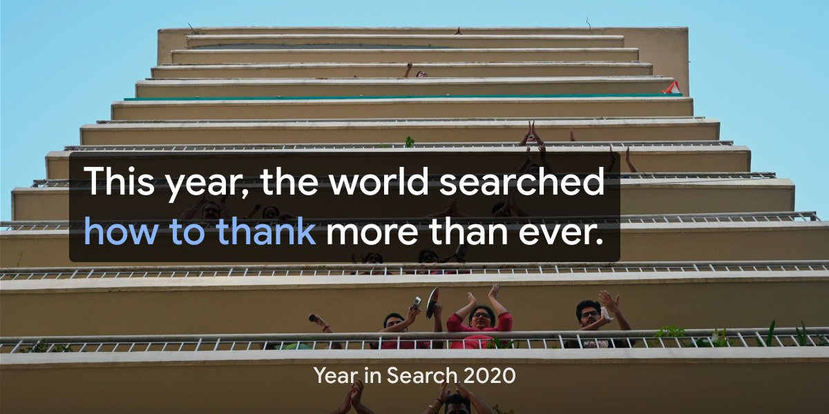 Thank you to all those working tirelessly to keep us safe. 🙏  Explore more of the year's top trends →