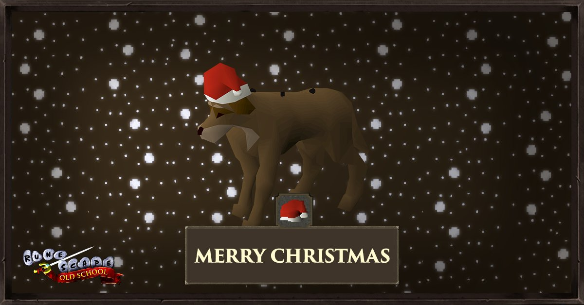 Osrs Christmas Quest 2021 Old School Runescape On Twitter You Ve Given The Stray Dog A Very Merry Christmas Https T Co Eyar4ngvuy