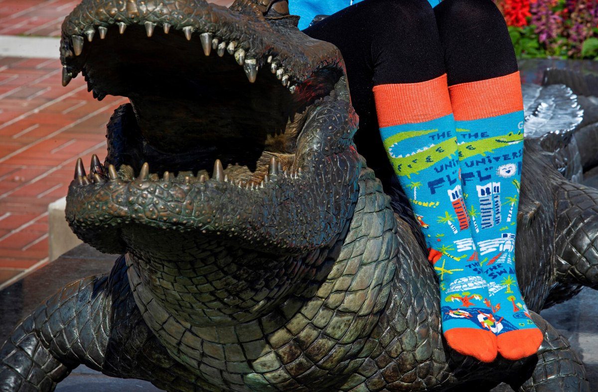 ❄️ 🌡️ It might be cold where you are, but Swamp Socks are always hot! Keep your Gators warm this season! 🐊