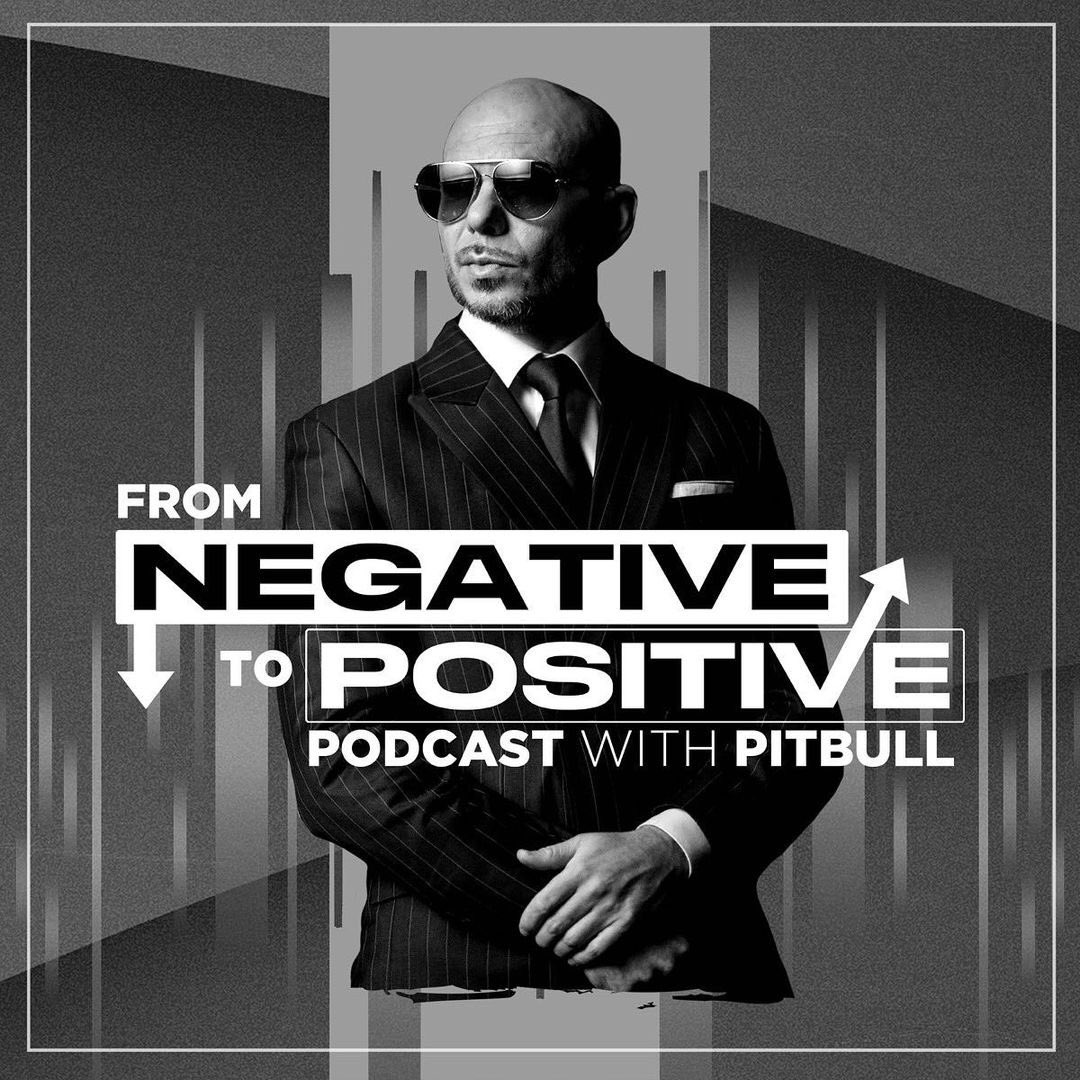 "#NEW Listen to the brand new @Pitbull's Podcast ""From Negative to Positive — Pitbull's Top Shelf 2020 Wrap-Up"" now at:  #FromNegativeToPositive #MrWorldwide #Pitbull"