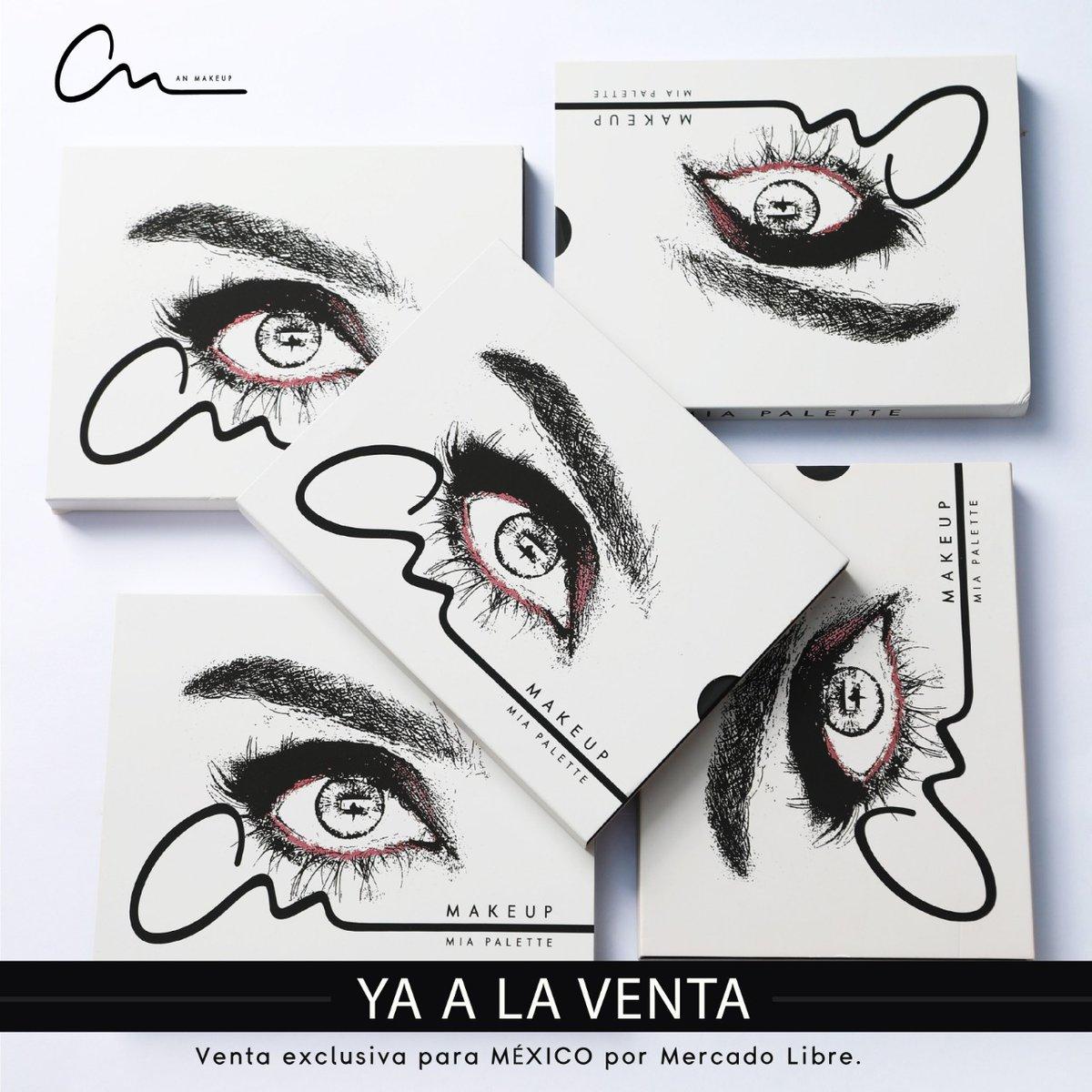 Llegó la NAVIDAD 🎄 ¡La ⭐ de tu makeup hoy será MIA PALETTE!  Venta exclusiva @ML_Mexico #BecomeYourDream #anmakeup1111 . . . . . . #makeuplovers #makeupartists #makeupdreamers #makeup #eyeshadows #anahi