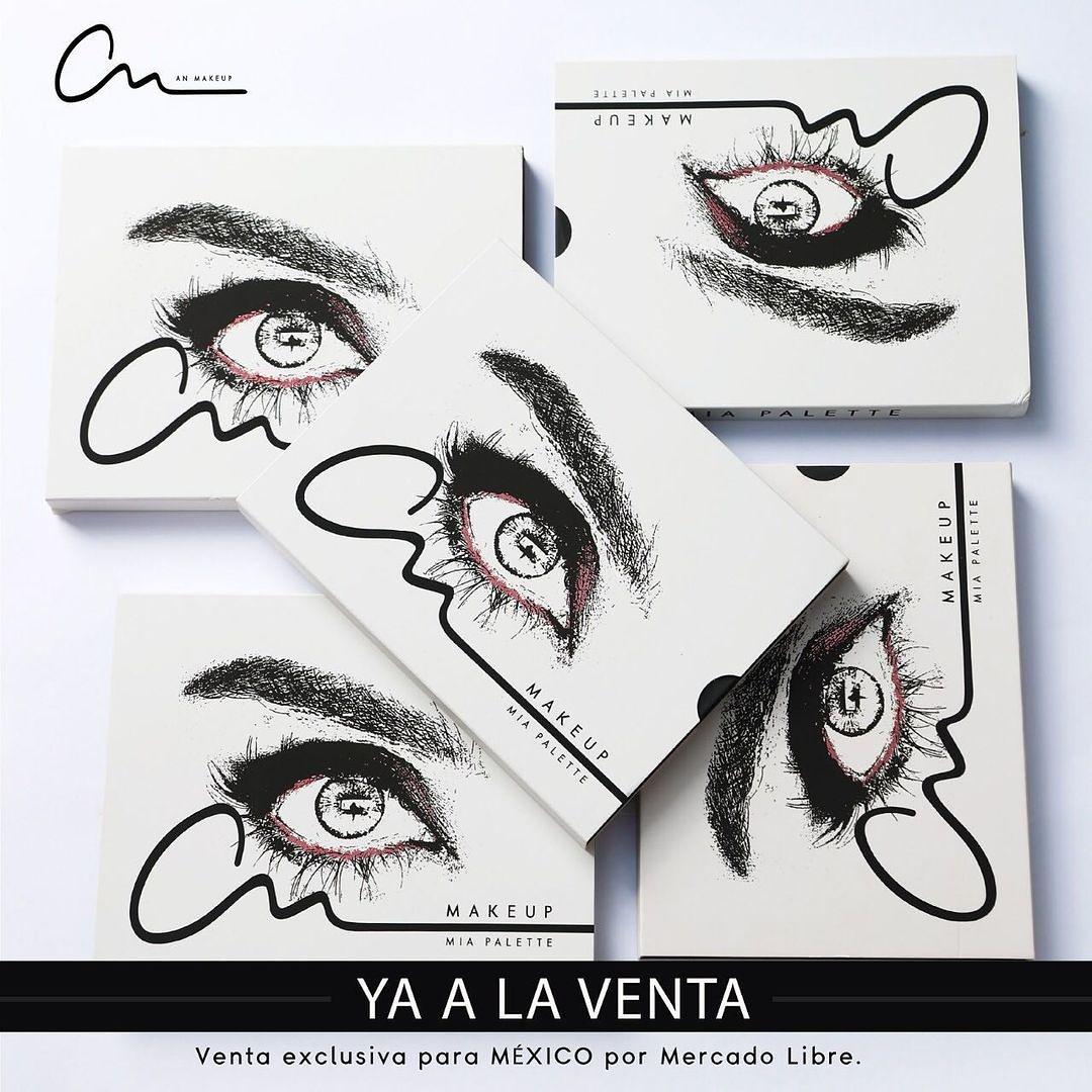 Llegó la NAVIDAD 🎄 ¡La ⭐ de tu makeup hoy será MIA PALETTE!  Venta exclusiva @mercadolibre.mx #BecomeYourDream #anmakeup1111