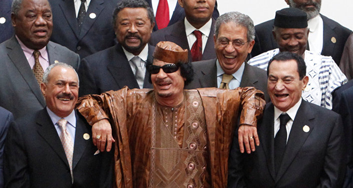 """بوابة الوفد عمرو موسى القذافي كان يشعر بالقوة ويرى """"مبارك وبن علي"""" ضعفاء (فيديو)"""