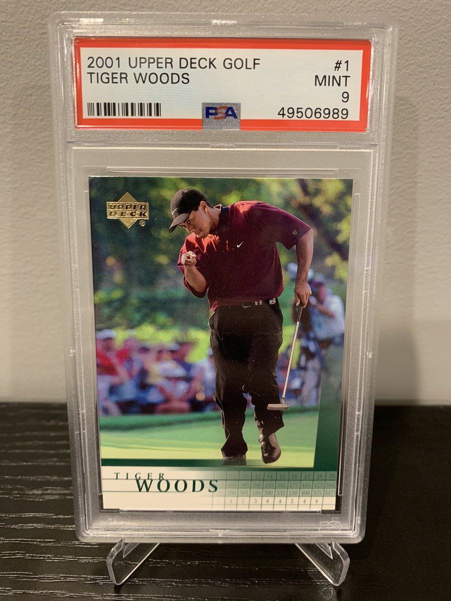 When I get to 10K followers I'm giving away this Tiger Woods PSA 9 Rookie Card.  Get it before his HBO documentary drops!🔥  To enter ⬇️  1. Follow me 2. RT this tweet  Will pick a random winner and ship out next day when we hit 10k.  A lot more sports card content to come!💰🚀📈 https://t.co/69bSxwckRF