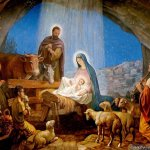 Image for the Tweet beginning: For unto you is born