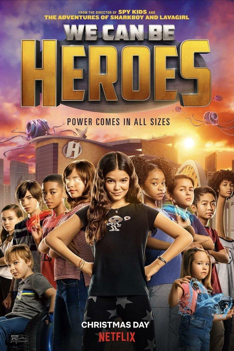 The new film from director: @Rodriguez: #WeCanBeHeroes premieres tomorrow on @netflix. Starring: @priyankachopra, @HaleyReinhart, @PedroPascal1, #YaYaGosselin, #BoydHolbrook, @sungkang, @taylordooley & @ChristianSlater.