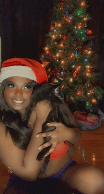 1 pic. Merry Christmas 🎄🎁 Findom ebony goddess femdom Ebonydomme humanatm assworship  humiliation degradation