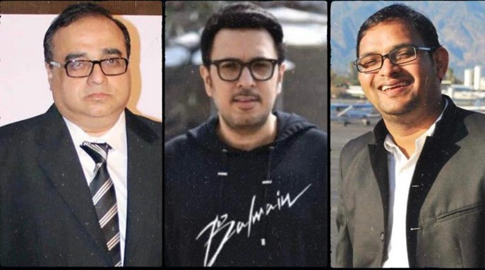 BIGGG NEWS... #RajkumarSantoshi, #DineshVijan and #MahaveerJain join hands... Announce 7-episode series that will highlight valour, values and culture of #India... Part of #ChangeWithin initiative launched by film fraternity in 2019... Produced by #DineshVijan and #MahaveerJain.