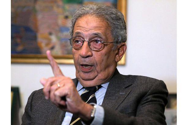 عمرو موسى الجامعة العربية «ما تقدرش» تمنع التطبيع مع إسرائيل
