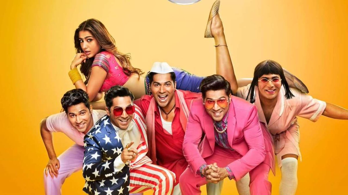 #CoolieNo1 is an ENTERTAINER.  And @Varun_dvn carries the entire film on his shoulders while #SaraAliKhan almost fills up the giant shows of #KarishmaKapoor.  Its a Rib Tickling Comedy in Vintage #DavidDhawan style. Highly Recommended #CoolieNo1Review: ⭐️⭐️⭐️💫(3.5/5)  Have Fun.
