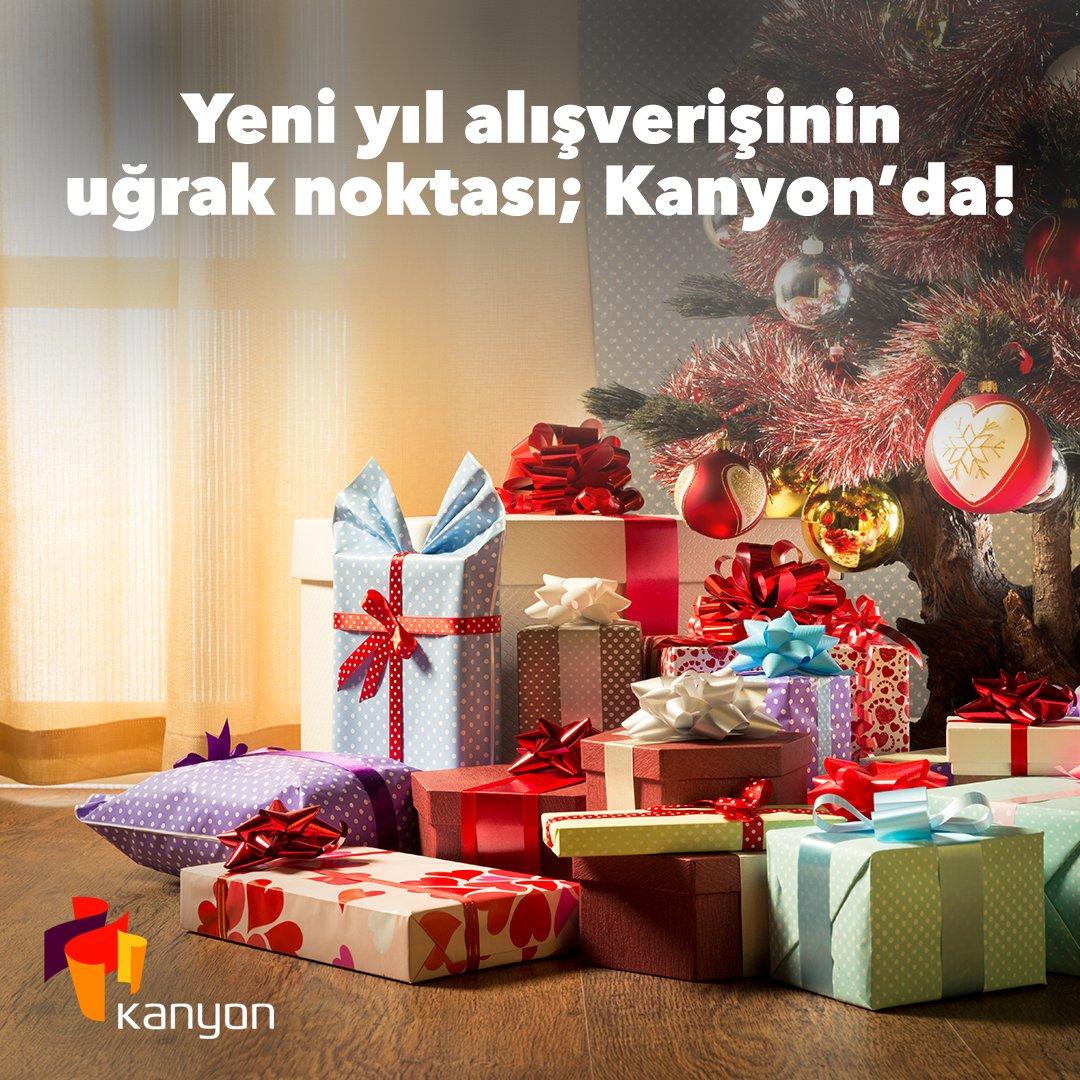 Yeni yılda sevdiklerinizi mutlu edecek binlerce hediye çeşidi Kanyon'da! Yeni yıla adım adım yaklaşırken Kanyon'a uğramayı ihmal etmeyin.   #işgyo#isgyo#kanyon#levent#kanyonda https://t.co/CL8gfhUUDZ