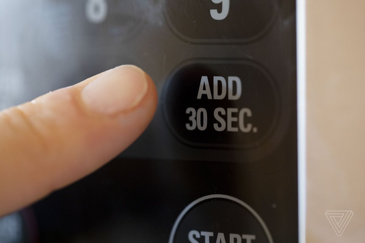 """The microwave's """"add 30 seconds"""" button offers an escape from cold digital precision"""