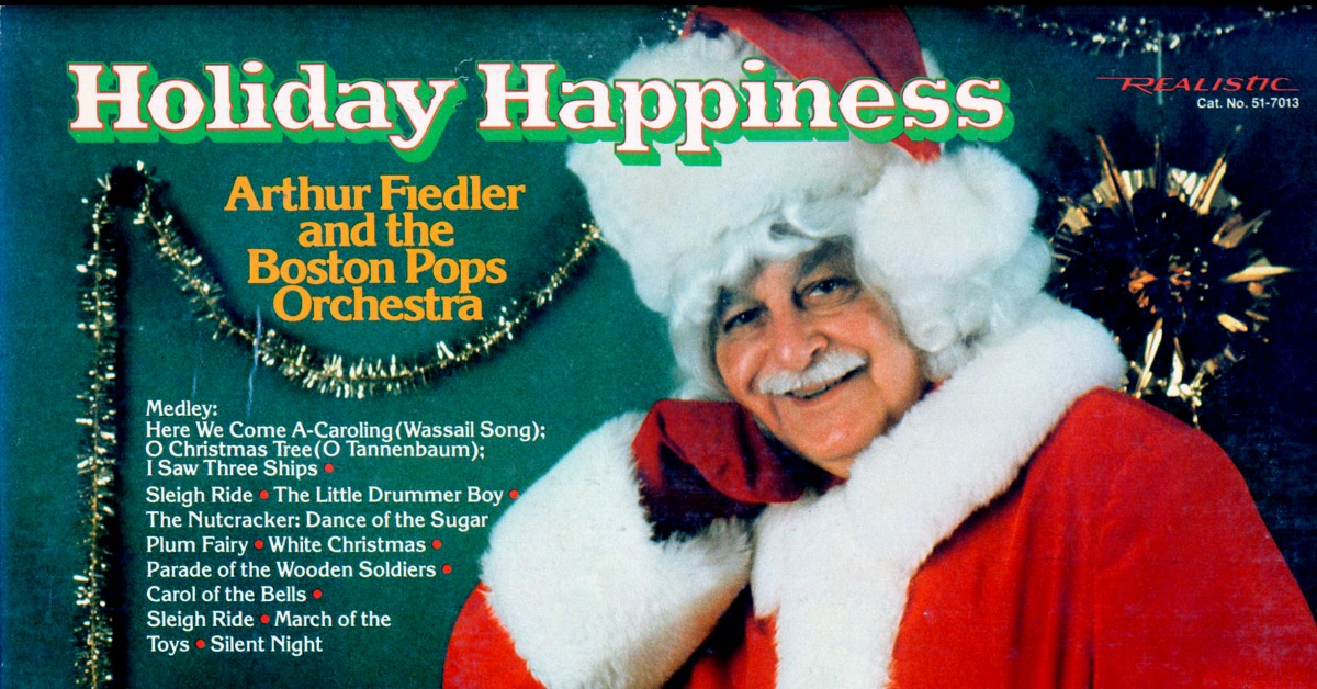 Here we see a rare picture of Father Christmas with only a Mo. Or is it just the world-renowned Arthur Fiedler in the famous red suit?   Wherever you are, whomever you're with and however you're celebrating the festive season - Merry Christmas from everyone at Movember.