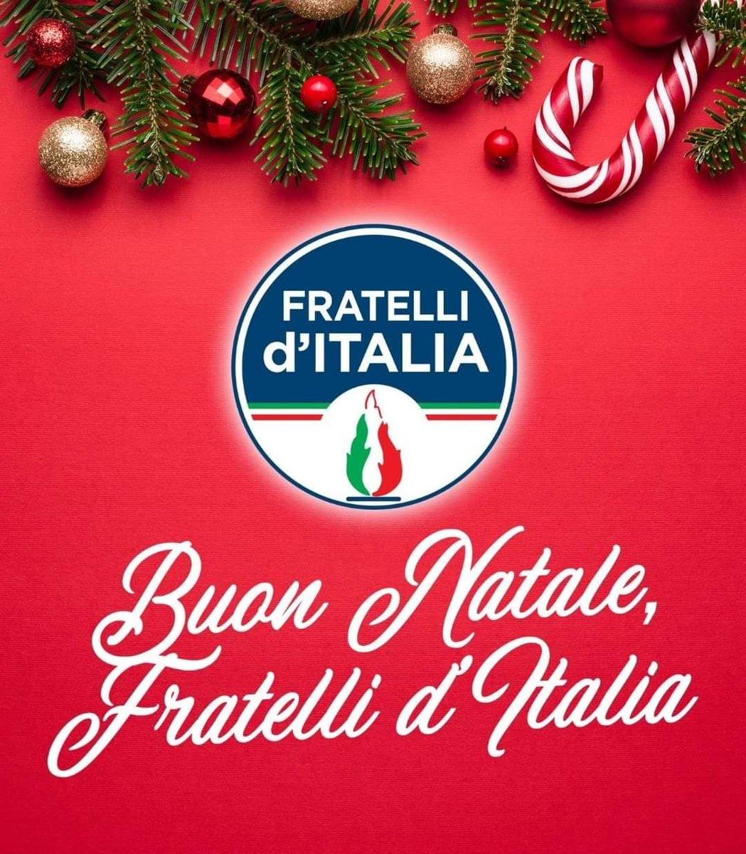 Buon Natale Italia.Fratelli D Italia On Twitter Auguri Di Buon Natale
