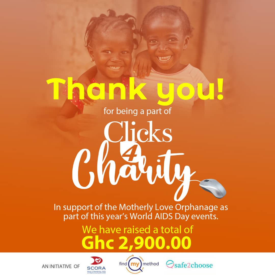 With your help we raised 2,900ghc for the orphanage! Thank you! ❤️❤️❤️❤️❤️ The children at Motherly love Orphanage will have a great Christmas because of this!