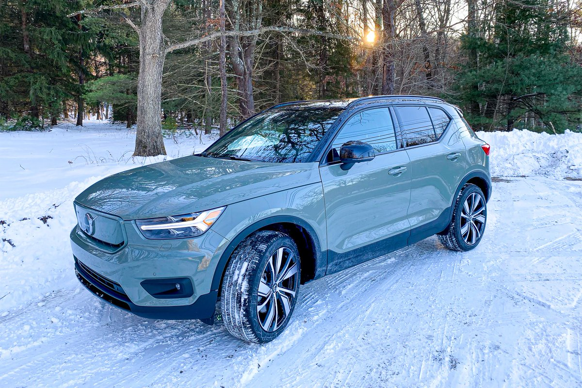 Driving the XC40 Recharge, Volvo's first electric crossover with native Android Auto
