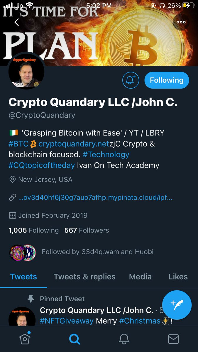 My prediction:- 24250$  Thanks For Each And Every Thing You Guys Are Doing For Us. We Need This Type Of People To Support💯😍❤️ I Hope You Have A Great Success Ahead @CryptoQuandary  My Wax acc :- 1mbaw.wam #NFT! #NFTgiveaway  #bitcoin  #btc  #sats #bits @WAX_io #CryptoQuandary