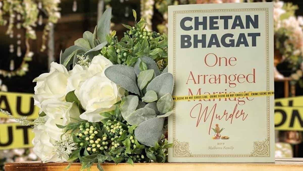 Finished reading 'One Arranged Murder' in only three sittings. And I am not able to find a suitable phrase or word for this book, I just felt in love with it.❤️ It really kept me hooked right till the end. Just unforgettable! Thank you, @chetan_bhagat sir.