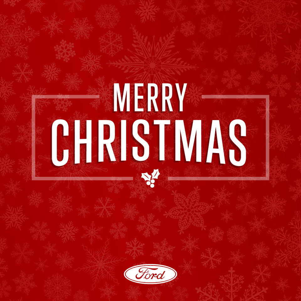 From our Southern Quality Ford family to yours, we wish you a very happy holiday! https://t.co/J7X4rOaGMz