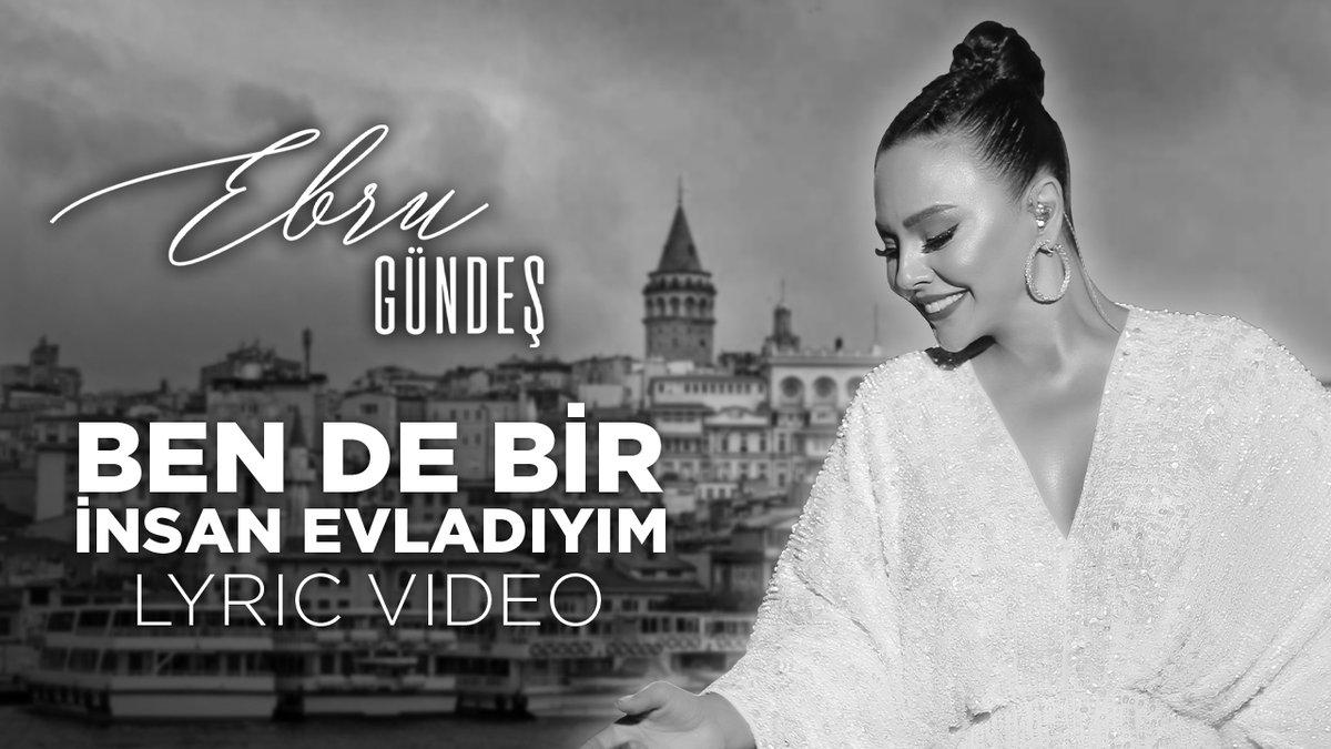 """Ebru Gündeş """"Ben De Bir İnsan Evladıyım"""" Lyric Video Yayında 🔥 https://t.co/qKopiJZ3mU #EbruGündeş #BenDeBirİnsanEvladıyım @EbruGundes https://t.co/meyusDB4bZ"""