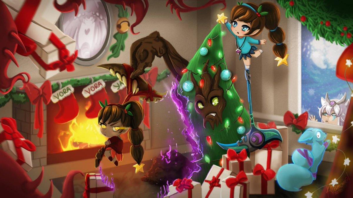 Paladins The Game On Twitter A Very Merry Christmas To All Those In The Realm Who Celebrate Cheers From Evil Mojo To You Follow us and unlock your free viktor skin here: paladins the game on twitter a very