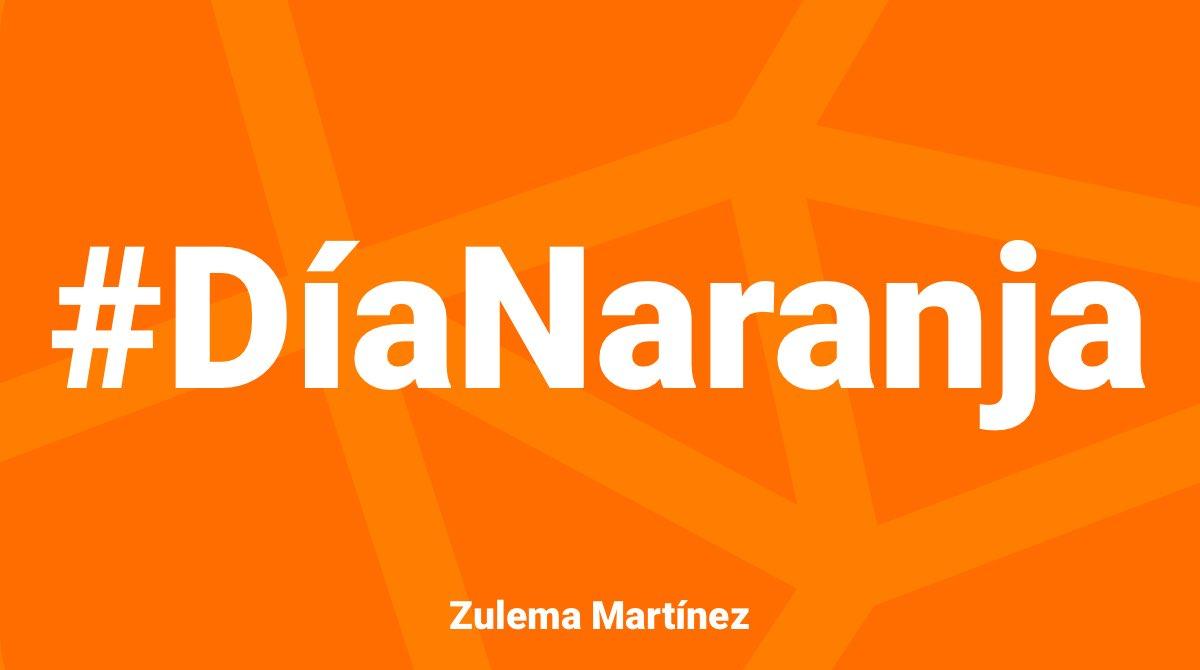 Debemos poner fin a la violencia que sufren a diario mujeres y niñas. #Únete. #PintaElMundoDeNaranja
