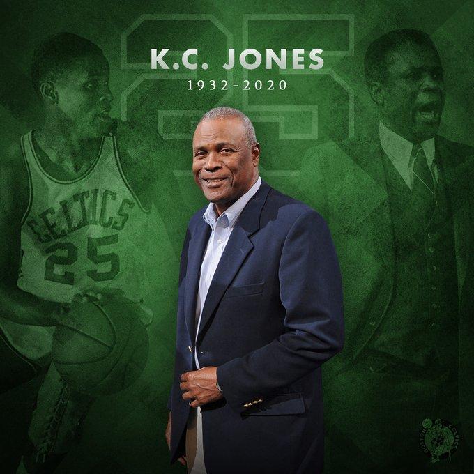 NBA. I Boston Celtics piangono la scomparsa della leggenda K.C. Jones