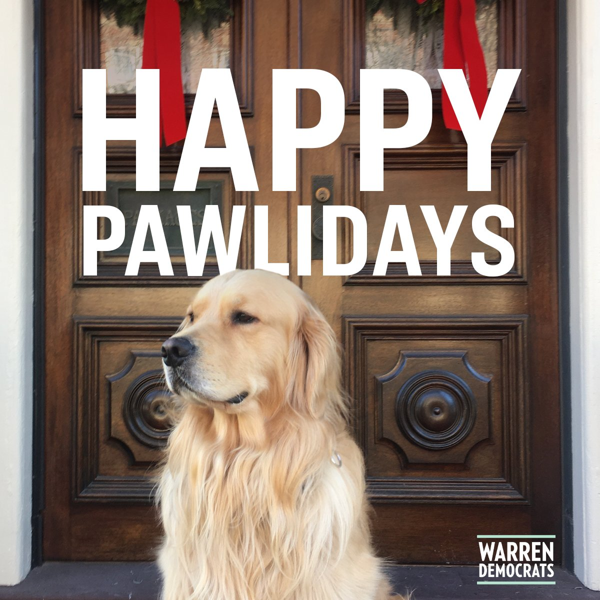 From my family to yours, merry Christmas! Bruce, Bailey, and I hope you're having a safe, healthy holiday season.