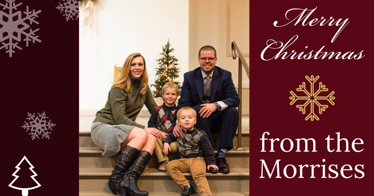 From our family to yours: Merry Christmas.