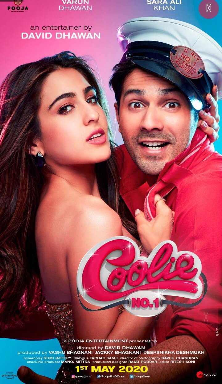 Varun Dhawan and Sara Ali Khan starrer Coolie No. 1