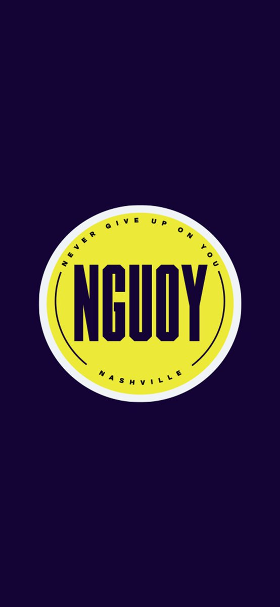 #NGUOY means so much to the city of Nashville. From tornadoes, to covid, to the explosion this morning in downtown.  This city has gone through so much over the last year, and we will bounce back stronger than ever.