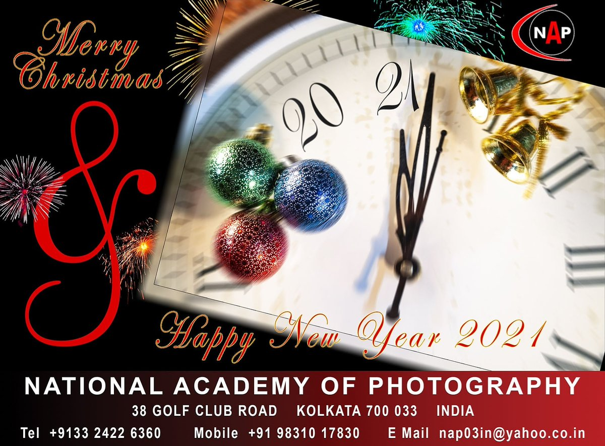 Academy Christmas Hours 2021 Madhu Sarkar On Twitter Wishing You All Merry Christmas And Happy New Year 2021 From National Academy Of Photography